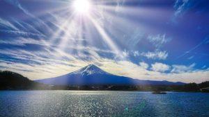 山梨の富士山